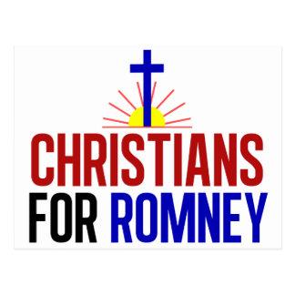 Carte Postale Chrétiens pour Romney
