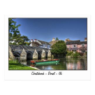 Carte Postale Christchurch - Dorset - le R-U