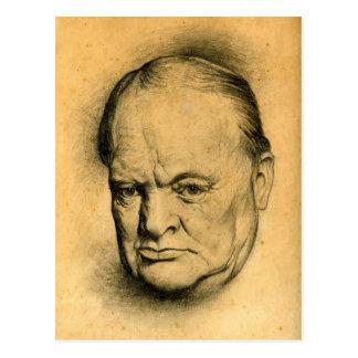 Carte Postale Churchill