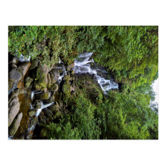 Carte Postale Chute d'eau dans les Kerry, Irlande (anneau of
