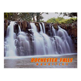 Carte Postale Chutes de Rochester, Îles Maurice
