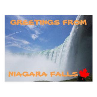 Carte Postale Chutes du Niagara Canada