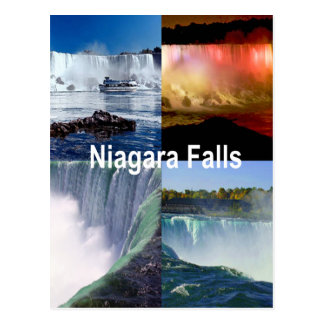 Carte Postale Chutes du Niagara New York