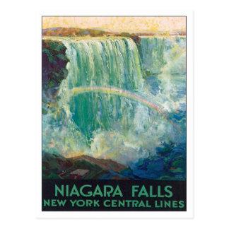 Carte Postale Chutes du Niagara New York Amérique
