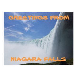 Carte Postale Chutes du Niagara, Ontario, Canada