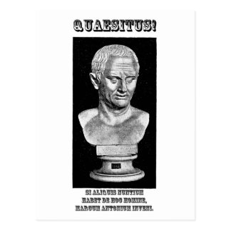 Carte Postale Cicero a voulu (le latin)