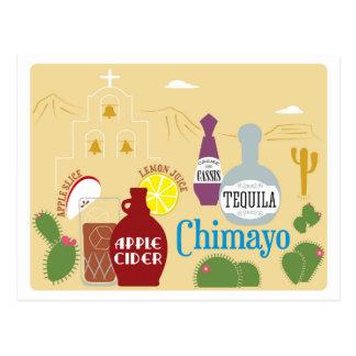 Carte Postale Cidre de Chimayo et cocktail de tequila