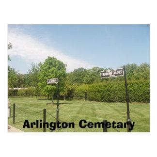 Carte Postale Cimetière d'Arlington