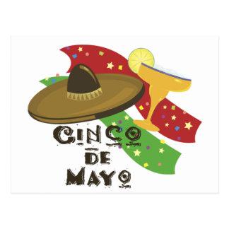 Carte Postale Cinco De Mayo