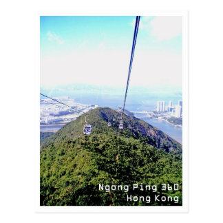 Carte Postale Cinglement 360, Hong Kong de Ngong