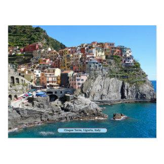 Carte Postale Cinque Terre, Ligurie, Italie