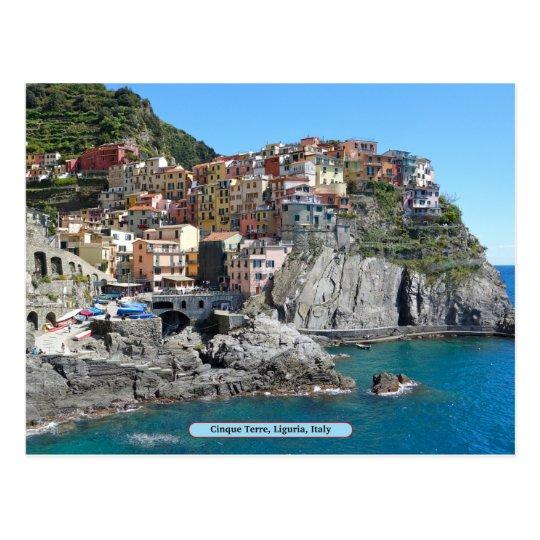 Carte Italie Ligurie.Carte Postale Cinque Terre Ligurie Italie Zazzle Fr
