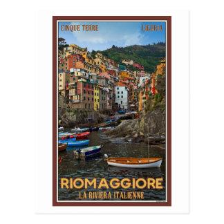 Carte Postale Cinque Terre - Riomaggiore