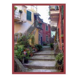 Carte Postale Cinque Terre (rue de Monterosso)