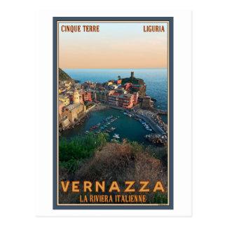 Carte Postale Cinque Terre - Vernazza