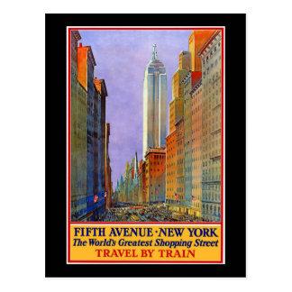 Carte Postale Cinquième Avenue
