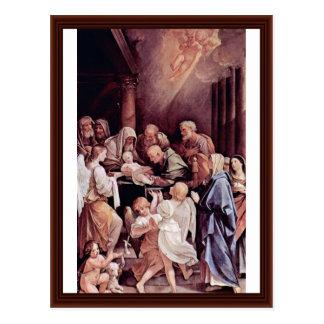 Carte Postale Circoncision de l'enfant Jésus par Reni Guido