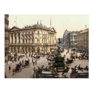 Carte Postale Cirque de Picadilly, Londres c.1895
