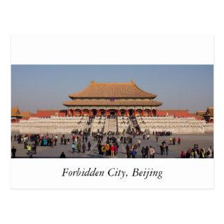 Carte Postale Cité interdite, Pékin