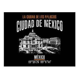 Carte Postale Ciudad de México
