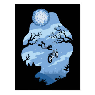 Carte Postale Clair de lune Hangin