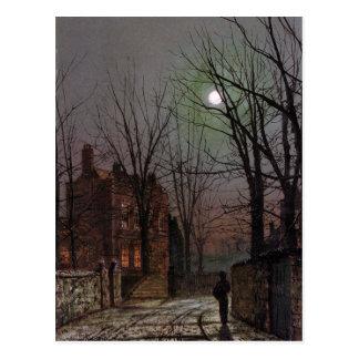 Carte Postale Clair de lune par John Atkinson Grimshaw