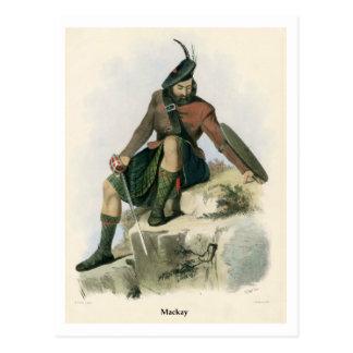 Carte Postale Clan Mackay