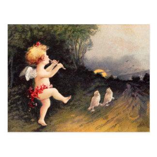 Carte Postale Clapsaddle : Petit ange avec la cannelure