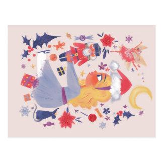 Carte Postale Clara et le casse-noix