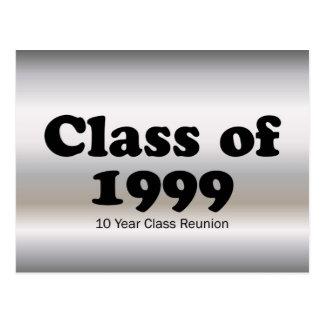 Carte Postale Classe de 1999 la Réunion de 10 ans