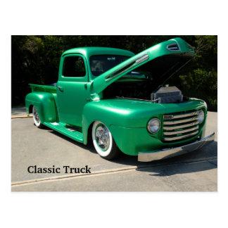 Carte postale classique de camion