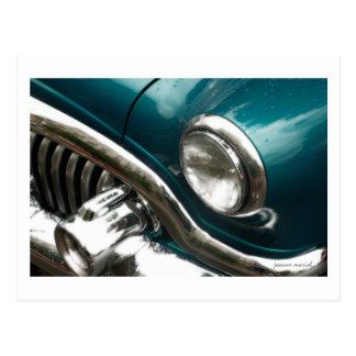 Carte postale classique de la voiture 11