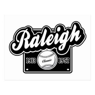 Carte Postale Classique de Raleigh