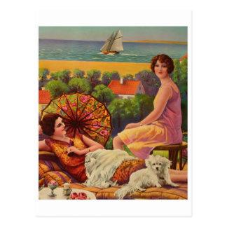 Carte postale classique d'illustration