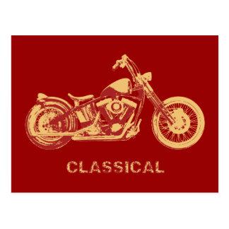 Carte Postale Classique - rouge