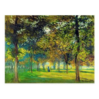 Carte Postale Claude Monet : Allee Du Champ De Foire