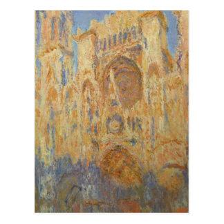 Carte Postale Claude Monet - cathédrale de Rouen