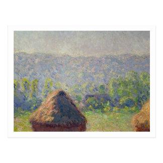 Carte Postale Claude Monet | la fin de l'été, chez Givern
