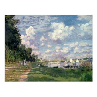 Carte Postale Claude Monet   la marina à Argenteuil, 1872