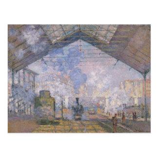 Carte Postale Claude Monet | le St Lazare, 1877 de Gare