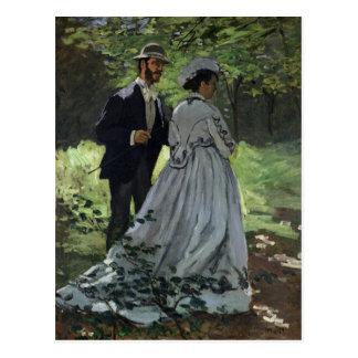Carte Postale Claude Monet | les auditeurs d'un