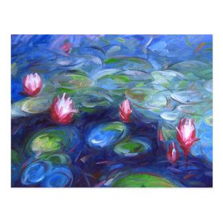 Carte Postale Claude Monet : Nénuphars 2