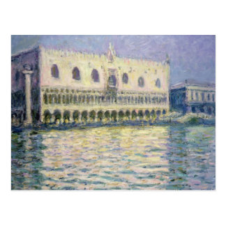 Carte Postale Claude Monet | Palace ducal, Venise, 1908
