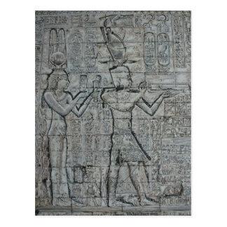 Carte Postale Cléopâtre et Caesarion