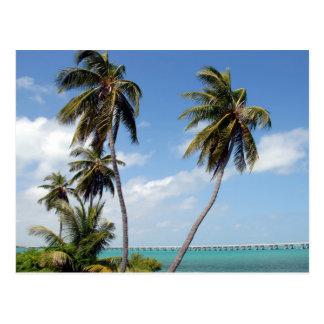 Carte Postale Clés de la Floride de parc d'état du Bahia Honda