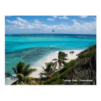 Carte Postale Clés du Tobago, grenadines