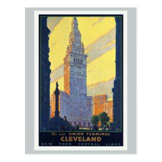 Carte Postale Cleveland le nouveau cru de terminal des syndicats