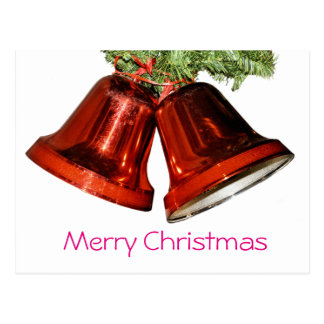 Carte Postale Cloches de Joyeux Noël