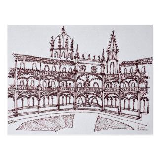 Carte Postale Cloître | Lisbonne, Portugal de monastère de