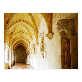 Carte Postale Cloîtres du monastère espagnol antique, FL